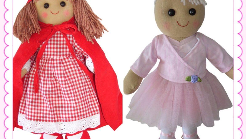 Rag dolls are fab dolls!