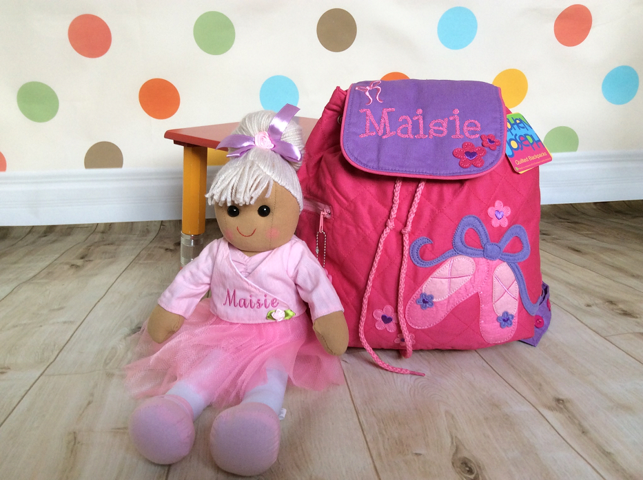 New in! – Backpacks and rag dolls