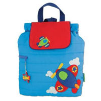 Personalised airplane nursery bag