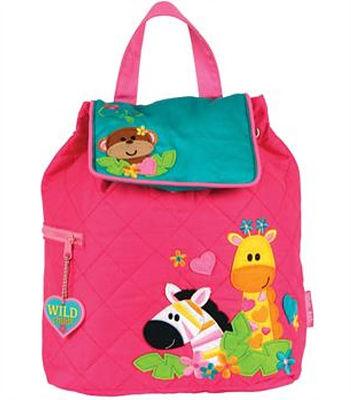 personalised backpack, wildlife design