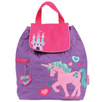 Personalised unicorn nursery or nappy bag
