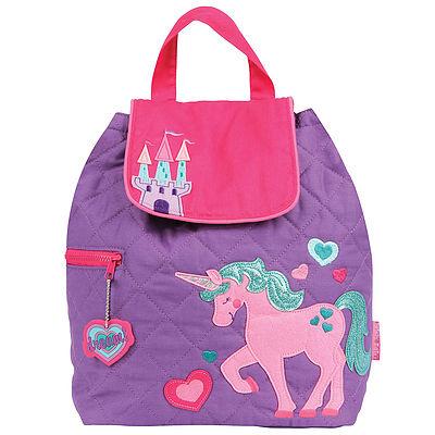 Personalised unicorn nursery or nappy bag