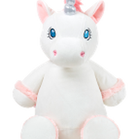 White unicorn perfect for making someone feel special by Lovingly Labelled