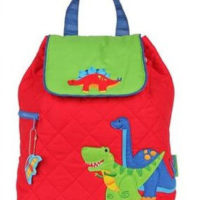 dinosaur nursery bag