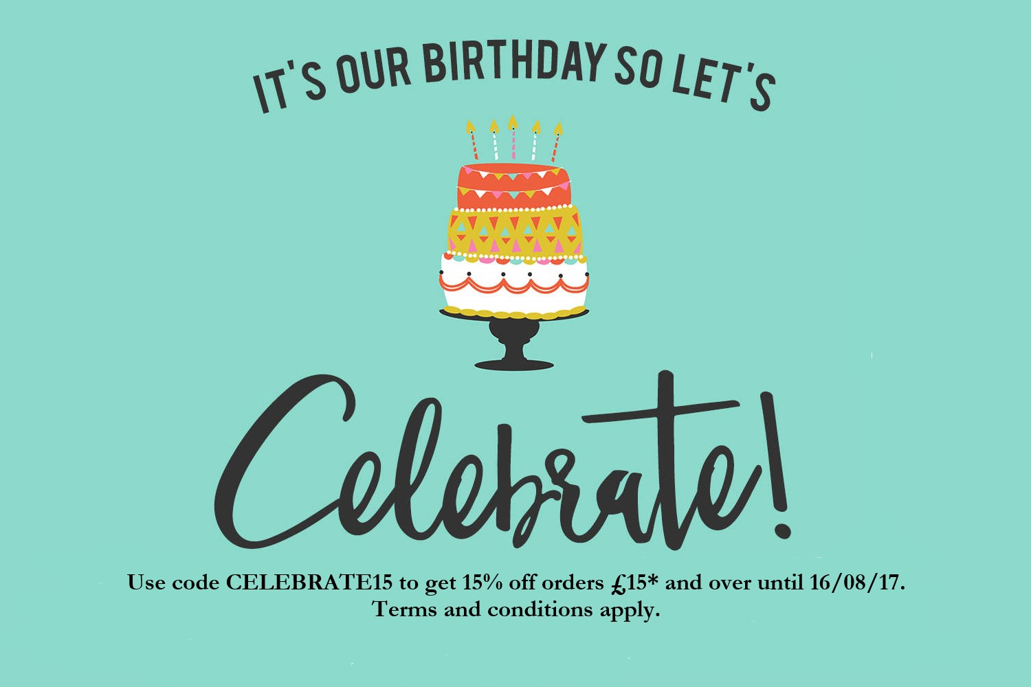 fe3e4f1e461 Birthday offer - get 15% off! - Personalised embroidered gifts ...